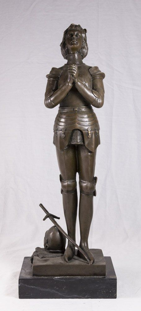 Bronze Sculpture of Joan of Arc