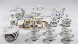 Group Lot of Diminutive Porcelain Items
