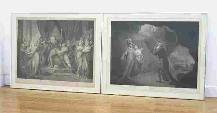 Two Early 19th Century English Prints, Shakespeare