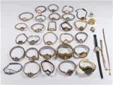 Ladies Vintage Wrist Watches