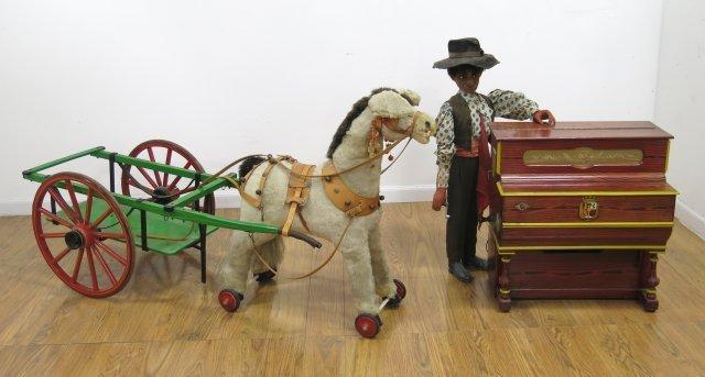 Antique Hurdy Gurdy Man
