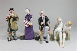 Lot of Royal Doulton Figures