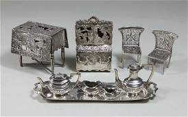 Cabinet Size Sterling Silver Pieces