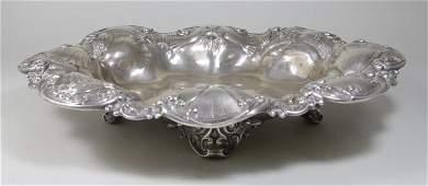 Art Nouveau Sterling Silver Bowl