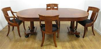 Regency Style Dining Room Table by Baker