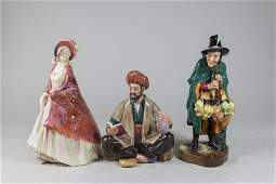 Lot of 3 Royal Doulton Figures