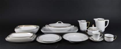 Partial Rosenthal Porcelain Dinnerware Set