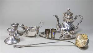Group Lot of Silver Items