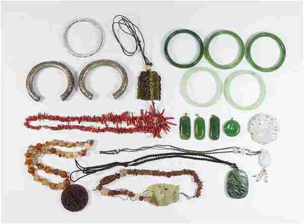 Group Lot of Asian Jewelry