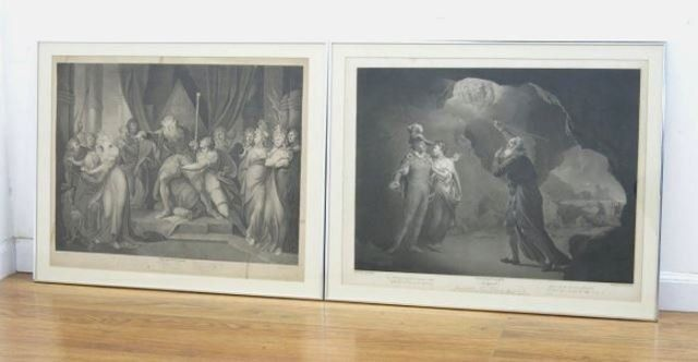 2 Early 19th Century English Prints, Shakespeare