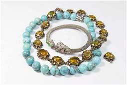 2 Chokers & 1 Bracelet
