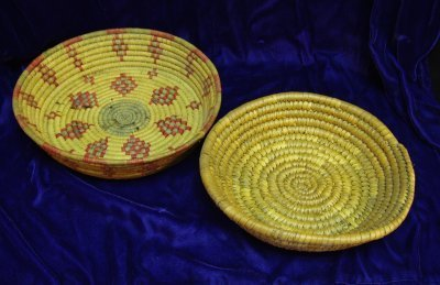 860: 2 AMERICAN INDIAN BASKETS