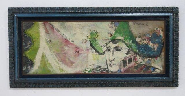 Berman, Figural Abstract