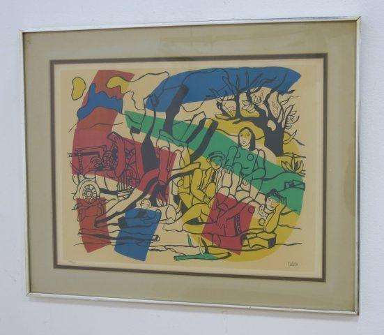 Fernand Leger, Print