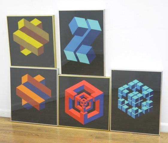 5 Color Theory Prints