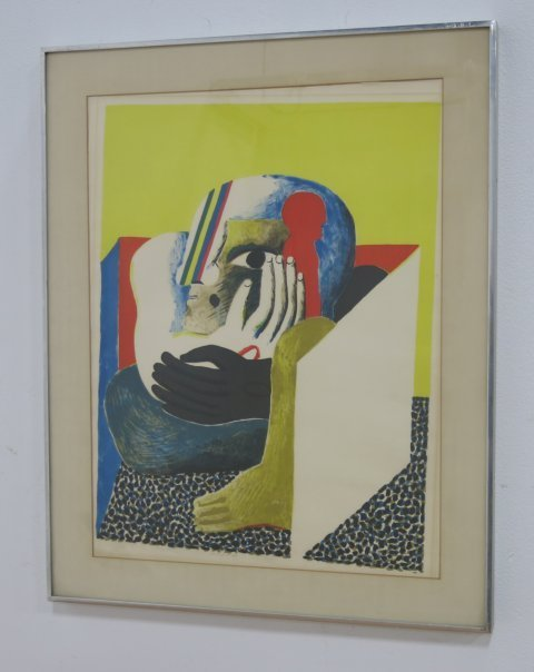 Horst Antes, Abstract Figure