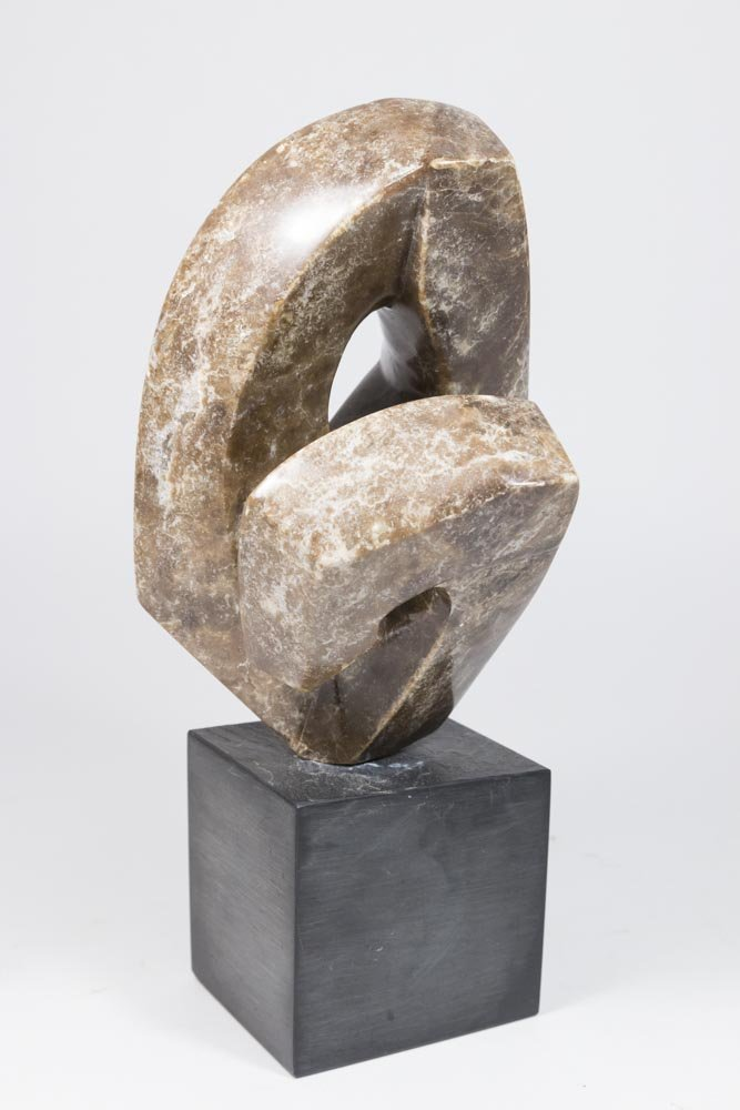 Modern Abstract Marble Sculpture