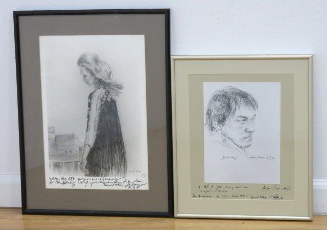 Andrew Vicari, 2 Prints