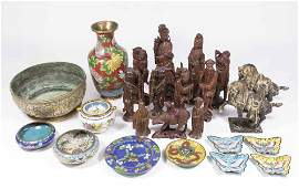 Group Lot of Asian Items