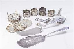Small Lot of 800  Sterling Silver Pieces