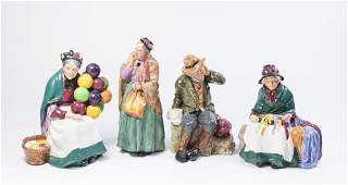 Lot of 4 Royal Doulton Figurines