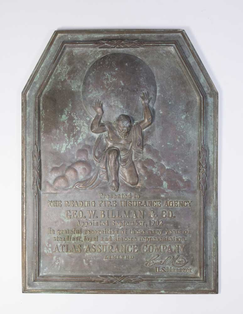 19th Century Bronze Plaque