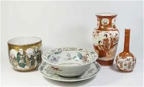 5 Asian Porcelain Items