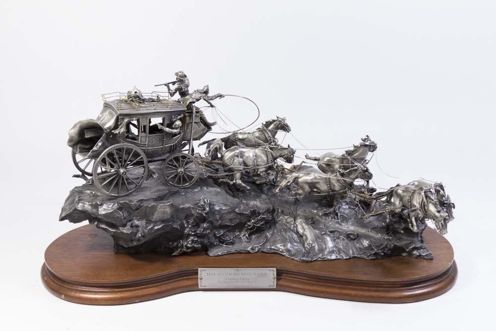 Michael Boyett Limited Edition Pewter Sculpture