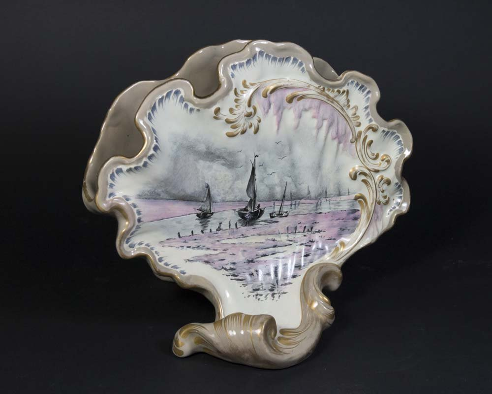 Galle Fayence Nancy Porcelain Vase