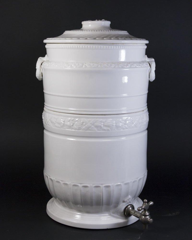 Porcelain Vintage Lemonade Dispenser