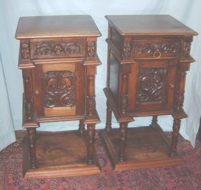 121: PAIR MATCHING NIGHT STANDS