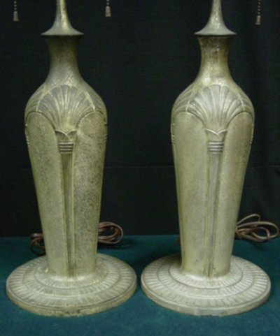 904: PAIR MATCHED TIFFANY STUDIOS LAMP BASES