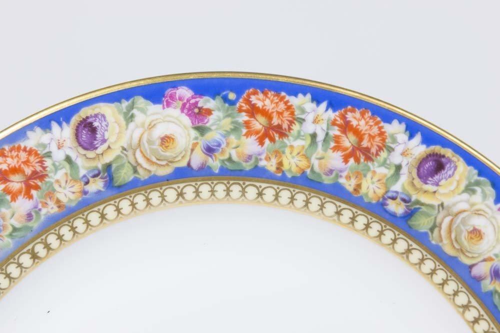 12 Ovington's Bavaria Handpainted Plates - 2