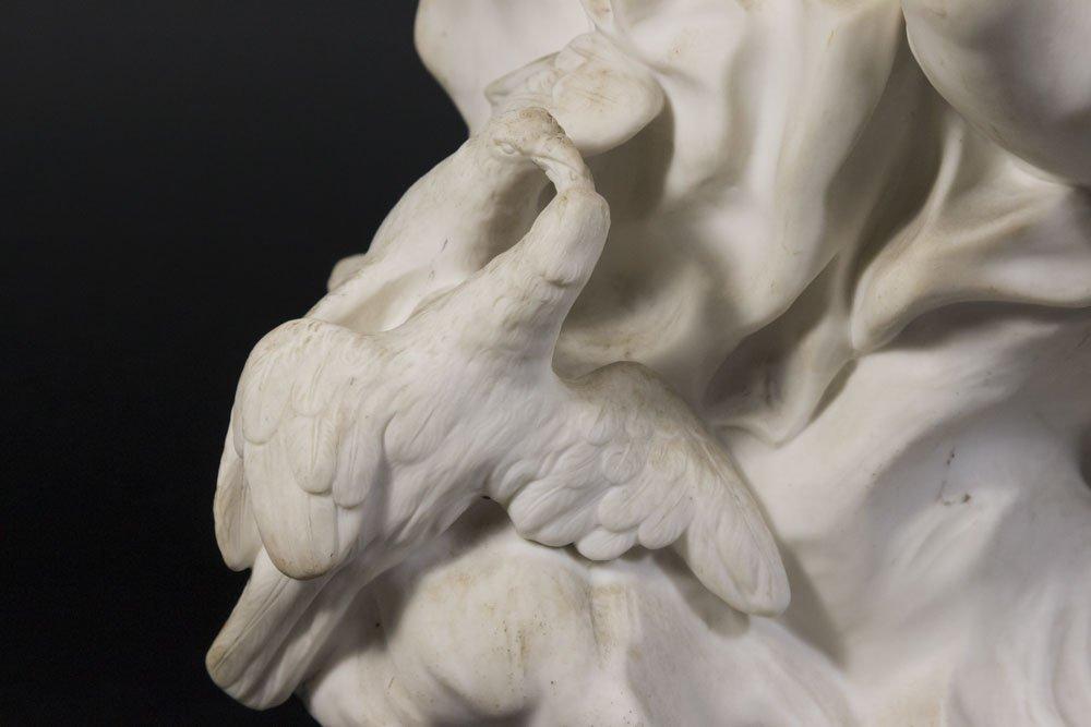 Parian Figure of Allegorical Semi Nude Woman - 3