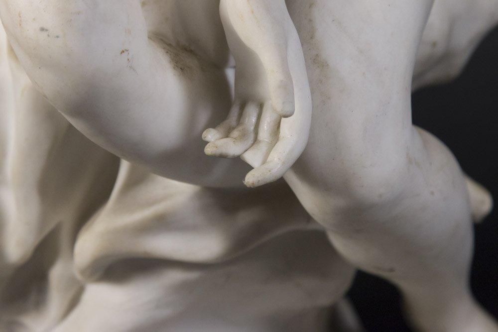 Parian Figure of Allegorical Semi Nude Woman - 4