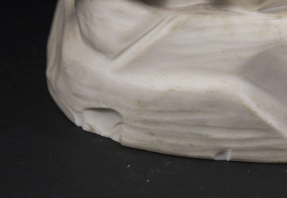 Parian Figure of Allegorical Semi Nude Woman - 5