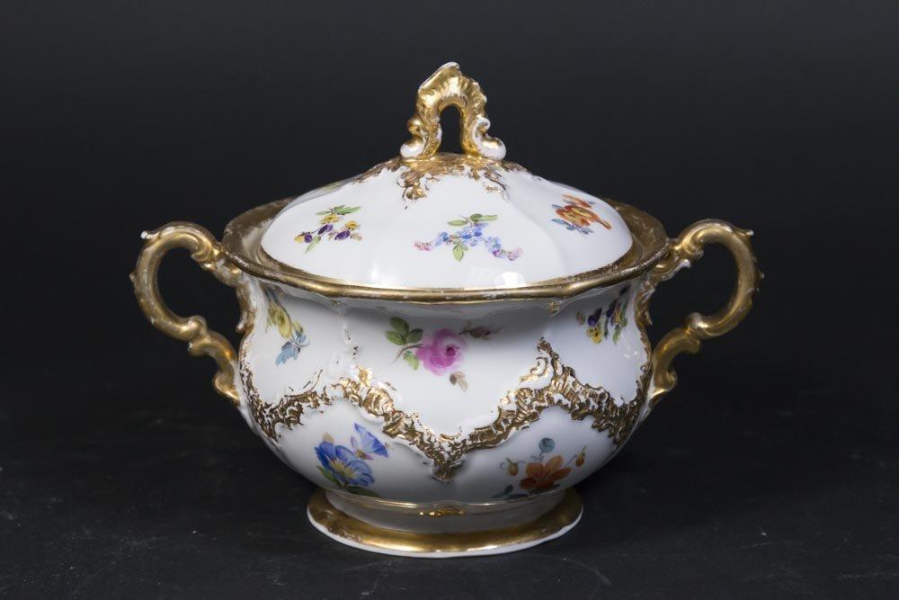 3 Piece Meissen Tea Set - 4