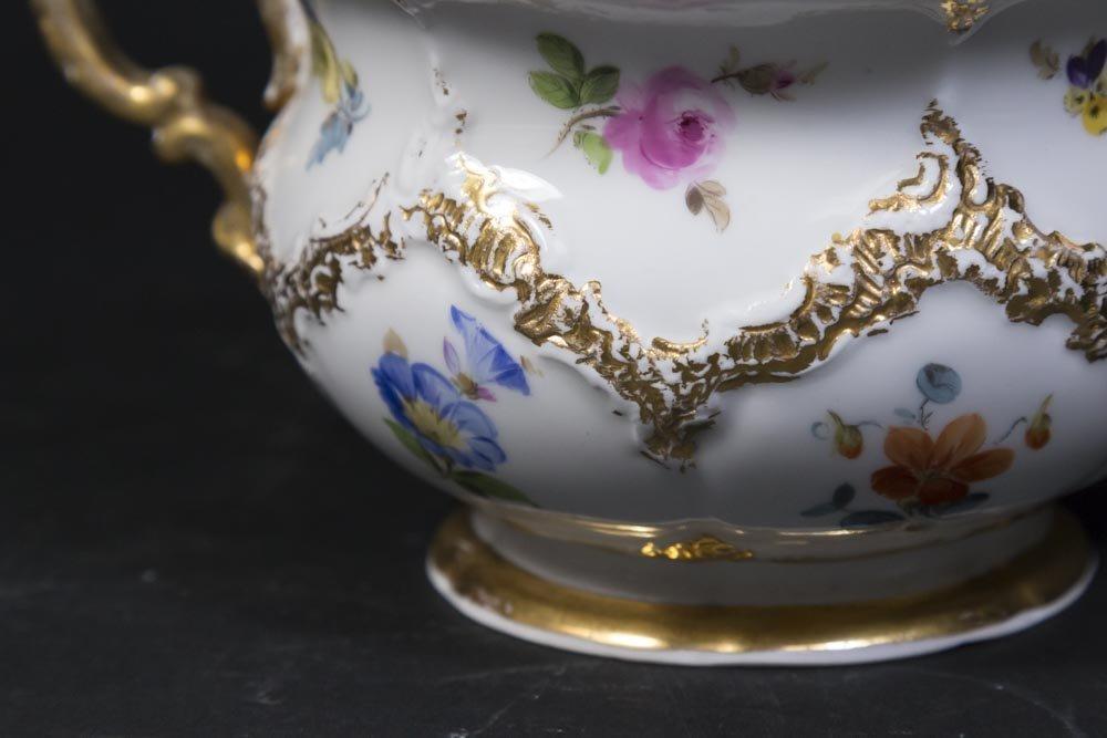 3 Piece Meissen Tea Set - 6