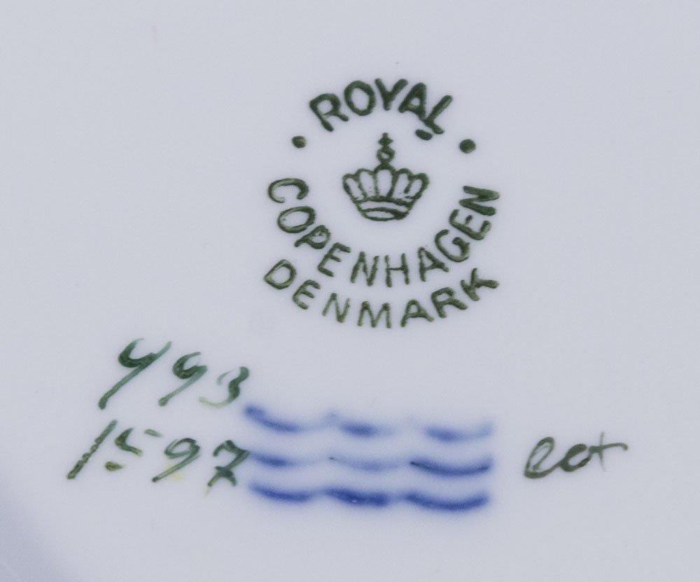 6 Royal Copenhagen Candy Dishes - 5