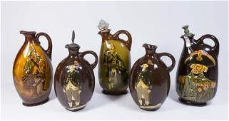 Royal Doulton Kingsware Jugs  Decanters