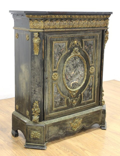 19th Century French Side Cabinet - 2