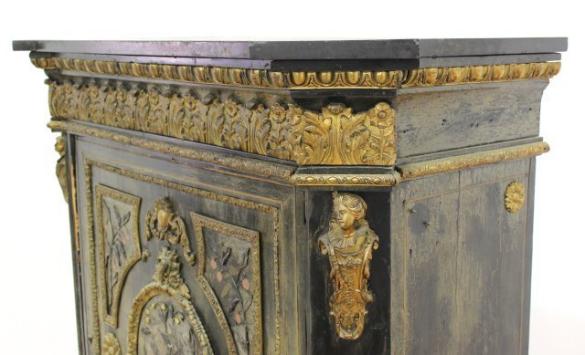 19th Century French Side Cabinet - 4