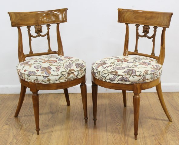 Pair Antique Chairs