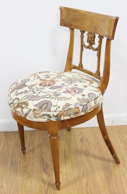 Pair Antique Chairs - 2