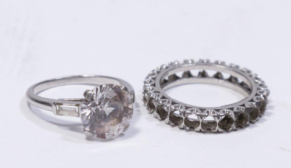 Platinum Wedding Band & Engagement Ring Settings