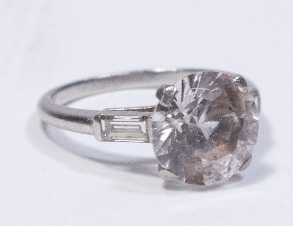 Platinum Wedding Band & Engagement Ring Settings - 2