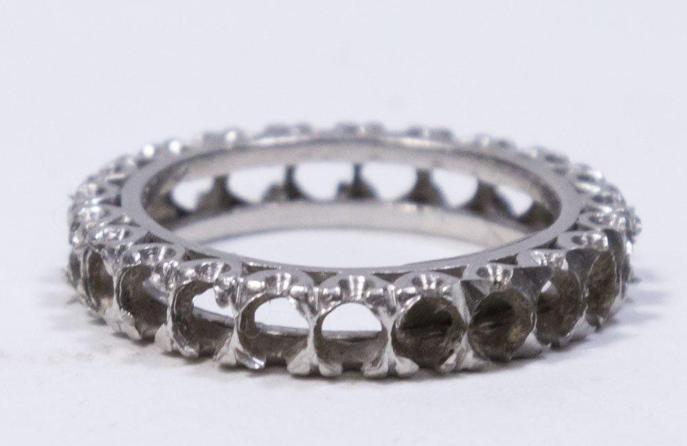 Platinum Wedding Band & Engagement Ring Settings - 3
