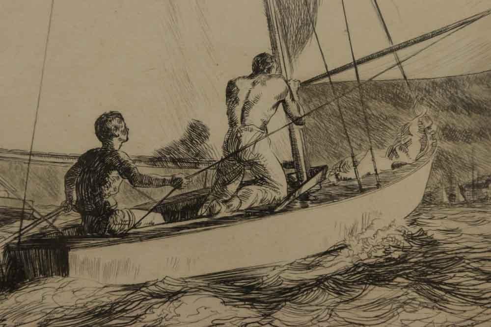 Yngve E. Soderberg, Sailboat Race - 3