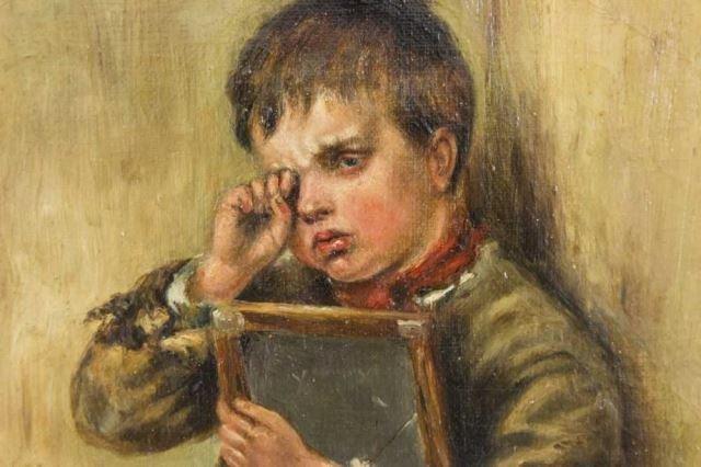 :D. Pasmore, Crying Boy - 3
