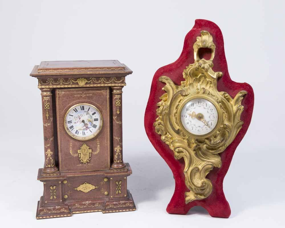 2 French Clocks